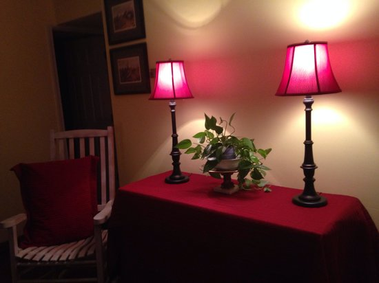 Cheesecake Farms Bed and Breakfast : Warm and inviting.