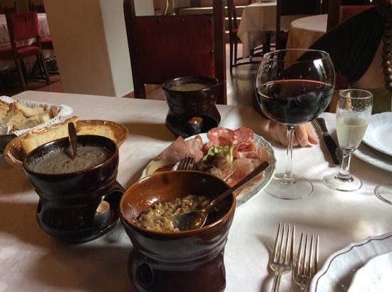 Ristorante Villa Borromeo: crostina