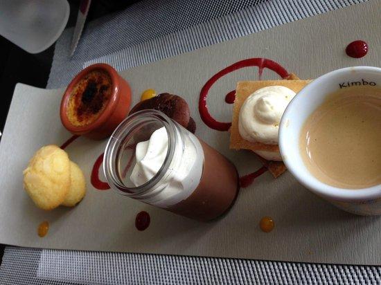 L'Exterieur : Café Gourmand