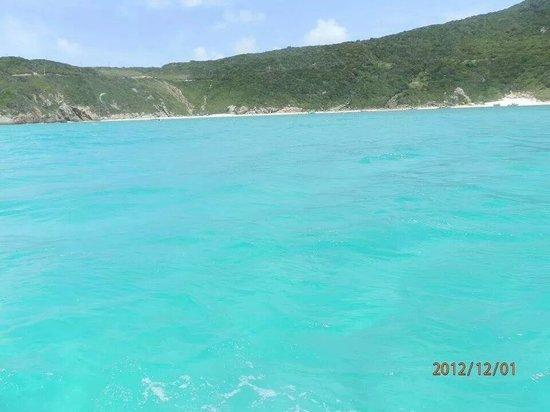 Prainhas do Pontal do Atalaia: azul