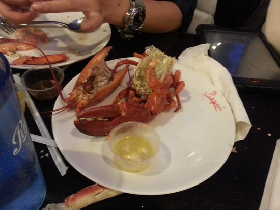 Royal Buffet : my 1st and lasr lobster