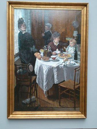 Städel Museum: Клод Моне. Завтрак. 1868