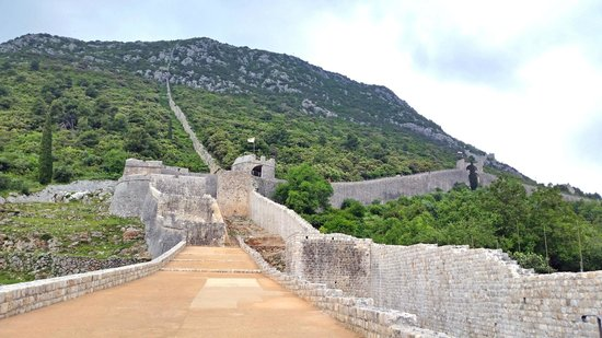 The ston wall picture of ston city walls ston tripadvisor ston city walls the ston wall voltagebd Image collections