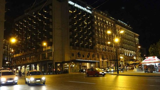 NJV Athens Plaza: The Plaza Hotel from Syntagma Square
