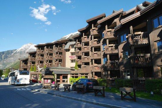 Mercure Chamonix Centre Hotel : Hotel Grounds