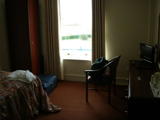 The Royal Norfolk hotel bedroom with seaview