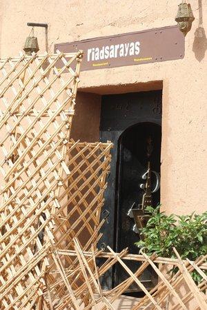 Sarayas : Entrée du Riad