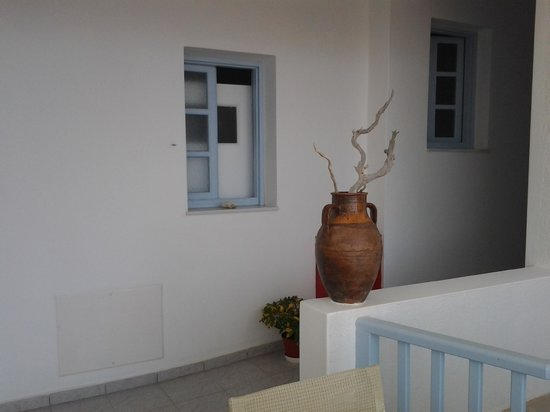 Hotel Aeolis : patio