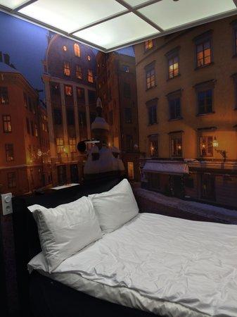 Hotel C Stockholm: Comfy bed