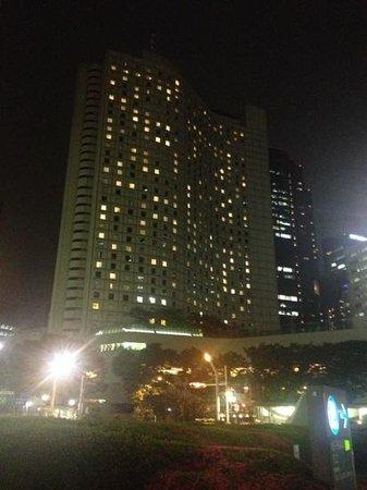 Hilton Tokyo: Veduta notturna.