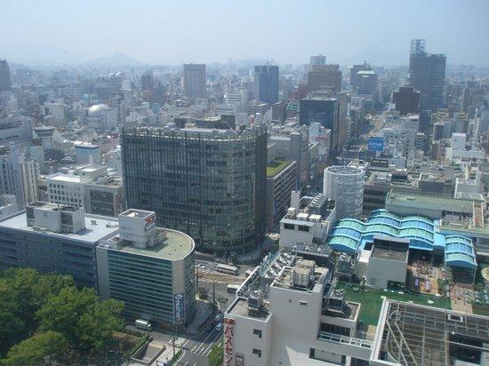 RIHGA Royal Hotel Hiroshima : 部屋からの眺望