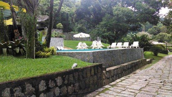 Hotel Daniela: Área externa