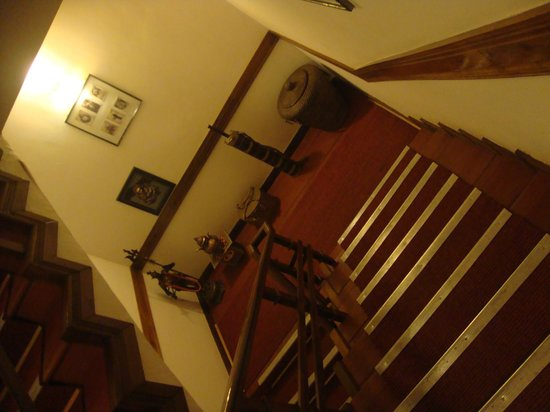 Snow Lion HomeStay: Staircase