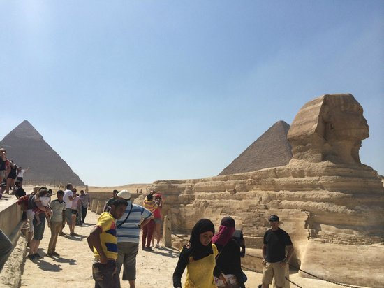 Sphinx : Great view!