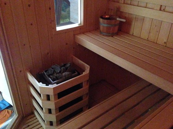 Chambres d'hotes et Gite des Fees : sauna Mélusine