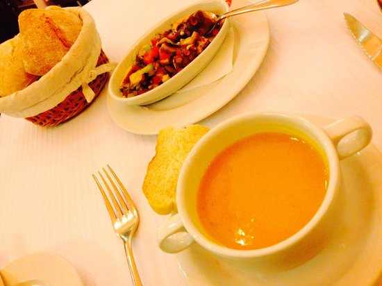 Cervejaria Trindade : 頼んだスープ