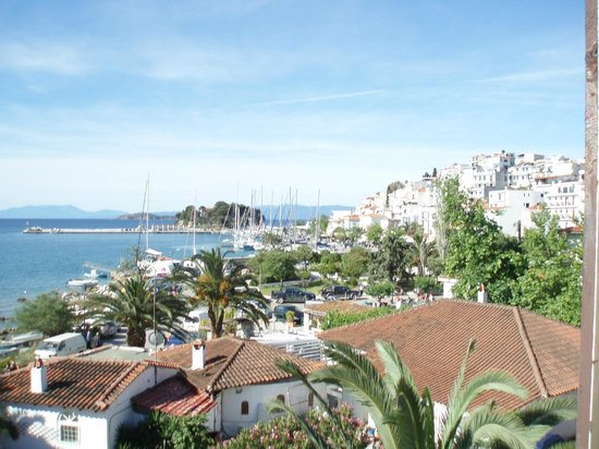 Hotel Alkyon: View from Terrace across town