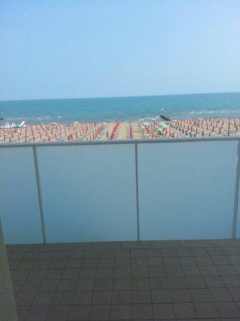 Hotel Vidi Miramare & Delfino: Vista camera 505 fronte mare