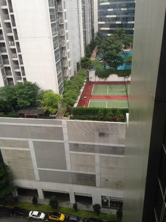 Amara Singapore Hotel: View from Room