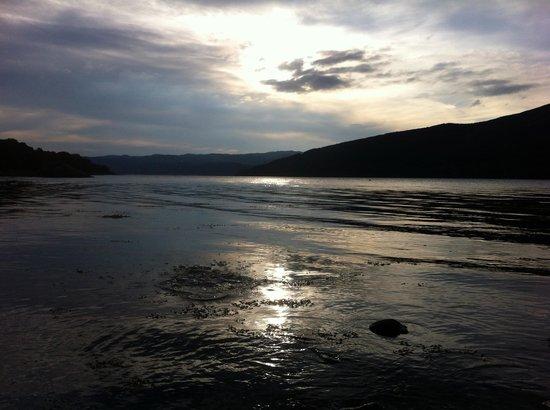 Ardno, UK: View down Loch Fyne