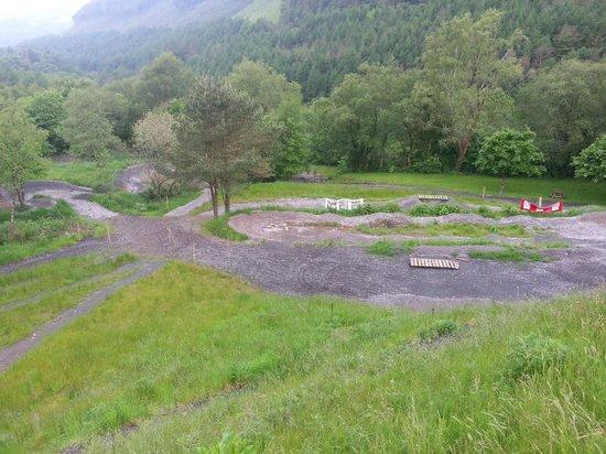 Afan Lodge: pump track