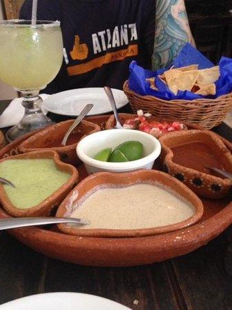 Carboncitos: salsa wheel