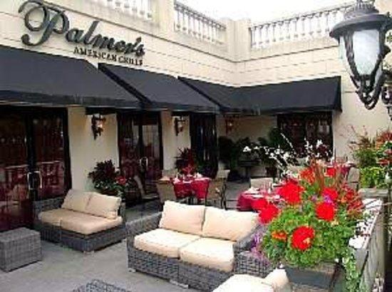 Palmers Restaurant Menu