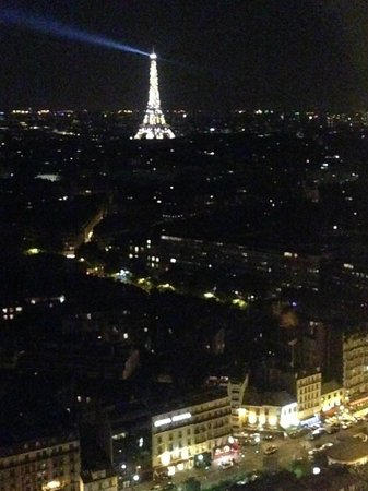 Hyatt Regency Paris Étoile : nice view atleast!