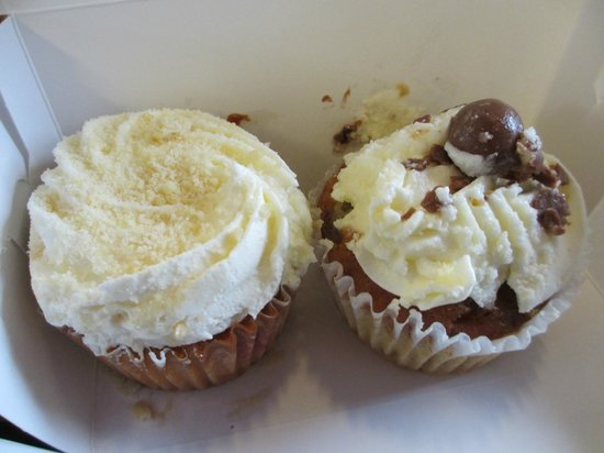 The Cupcake Bakehouse: Cupcakes après une balade dans la boite !