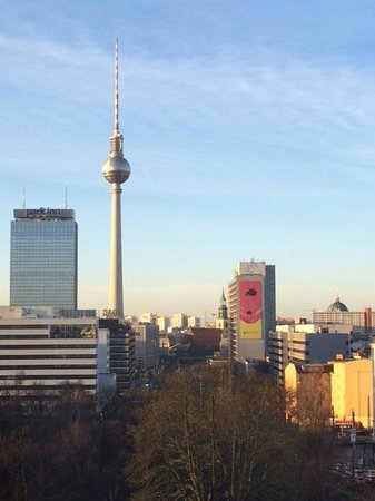 Ibis Berlin Mitte : view from the room