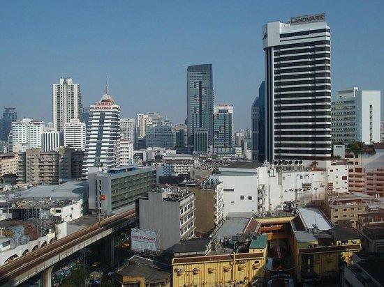 JW Marriott Hotel Bangkok: 1419号室からの眺め