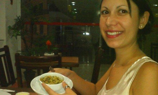 Costa Atlantico Hotel: O melhor arroz de cuxá que comi em São Luis
