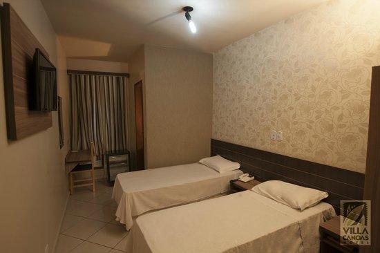 Hotel Villa Canoas: Duplo Twin Standart