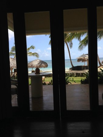 Zoetry Agua Punta Cana: View from our bed