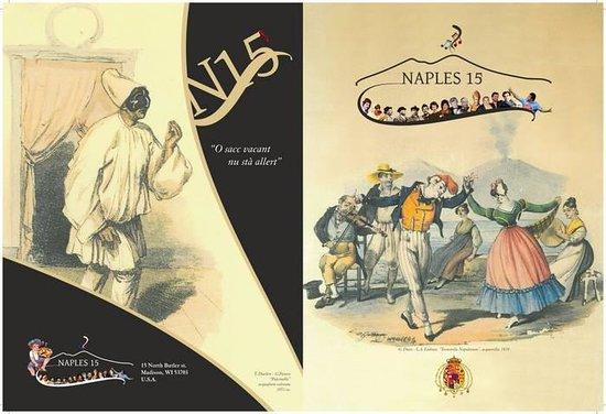 Naples 15: Cover Menu'