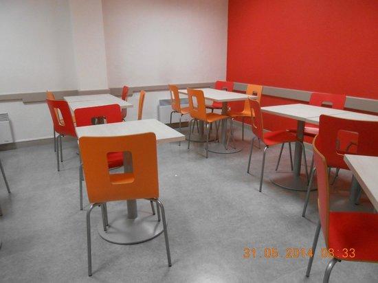 Premiere Classe Lille Centre : Ontbijtruimte