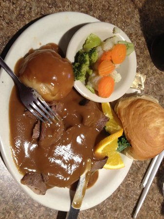 Hualapai Lodge : delicious food in the restaurant - I just wish we had chance to eat here more often on our trip!