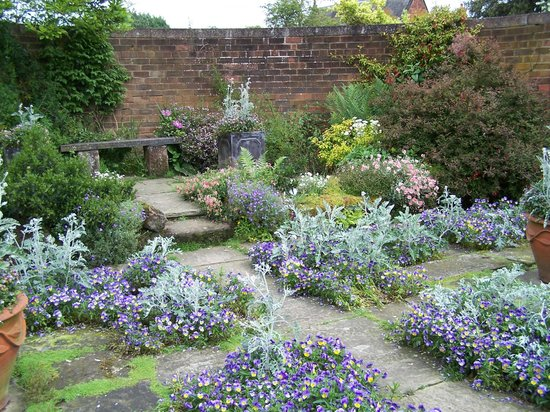 Arley Hall & Gardens: The Flag Garden