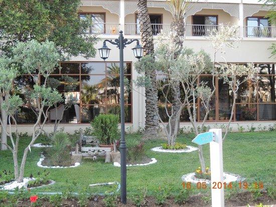 Club Hotel Turan Prince World: территория