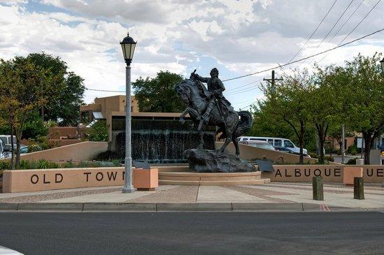 Albuquerque Old Town: Albuquerque. New Mexico.