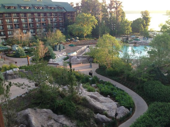 Disney's Wilderness Lodge: Room View Wilderness Lodge 1