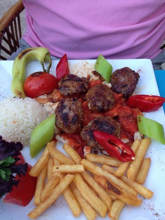 Club Dena : Turkish meatballs half board