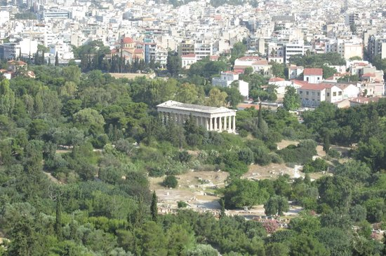 Temple of Hephaestus: From the Acropolis