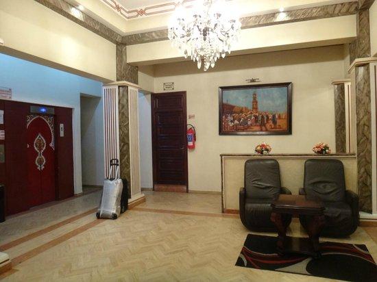 Hotel Prince de Paris reception