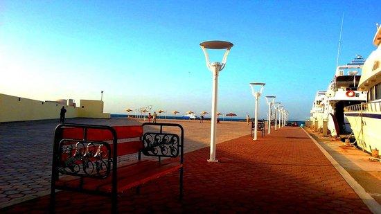 Hilton Hurghada Plaza : The hotel Marina, one of the best in Hurghada