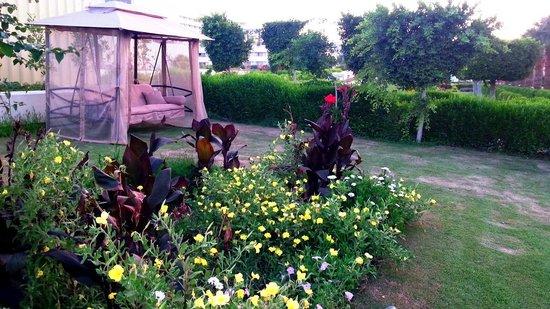 Hilton Hurghada Plaza : Wonderful gardens and landscape on the hotel grounds