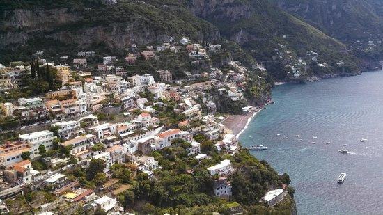 Positano Drivers: Limoncello along the coast overlooking Positano