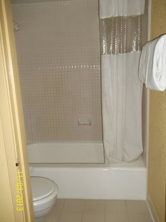 Ramada Kissimmee Gateway: Bath in Motel Room