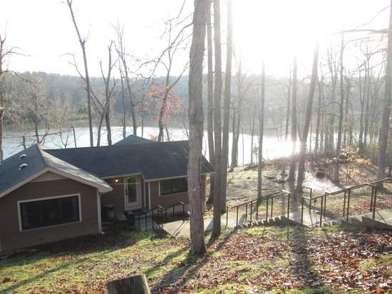 Pennyrile Forest State Resort Lodge : From the top of the stairs