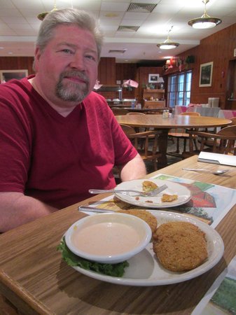 Pennyrile Forest State Resort Lodge : Fried Green Tomatoes! Yum!